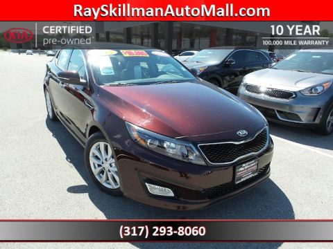 Certified Used Kia Optima EXPANO ROOF