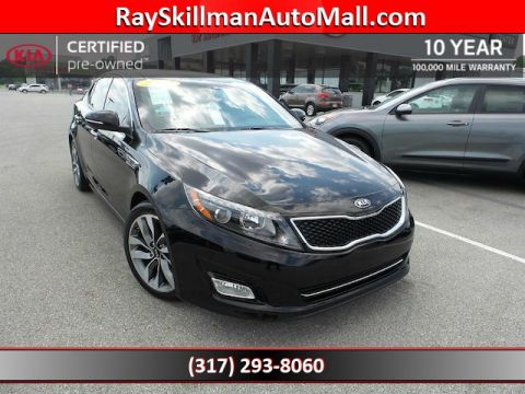 Certified Used Kia Optima SX Turbo