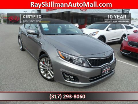 Certified Used Kia Optima SXLNAVPANO